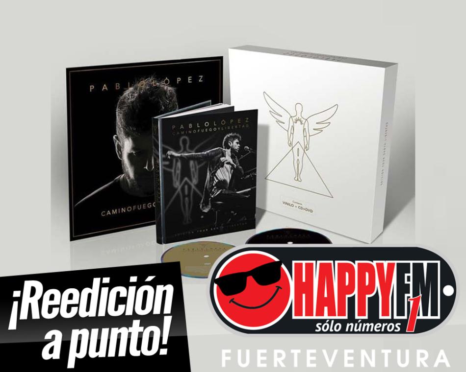Pablo López publicará mañana «Camino Fuego y Libertad. Edición Tour Santa Libertad», la reedición de su último disco