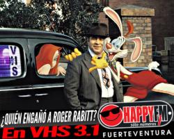 «¿Quién Engañó a Roger Rabitt?» en VHS 3.1