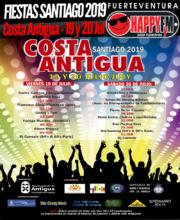 Fiestas Santiago 2019 en Costa Antigua: 19 y 20 de Julio
