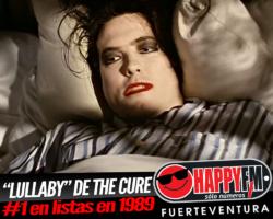 """""""Lullaby"""", el tema de The Cure que se convirtió en número uno en nuestro país en 1989"""