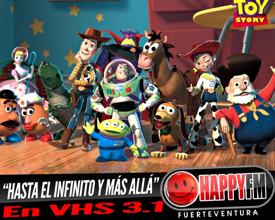 """Volamos """"Hasta el infinito y más allá"""" en VHS 3.1 con Toy Story"""