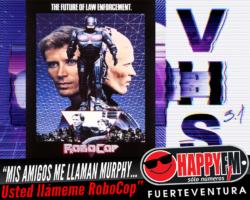 "En VHS 3.1: ""Mis amigos me llaman Murphy…usted llámeme RoboCop"""