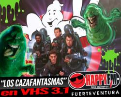 """Fenómenos paranormales en VHS 3.1 con """"Los Cazafantasmas"""""""