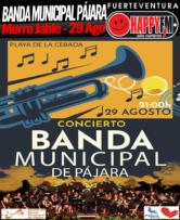 Banda Municipal de Pájara en La Cebada 2019