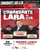 Noche de humor con el Comandante Lara & CIA en La Cebada 2019