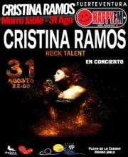 Concierto de Cristina Ramos en La Cebada 2019