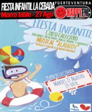 Fiesta Infantil Playa de la Cebada 2019