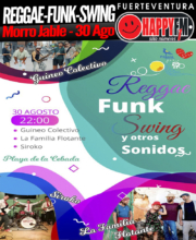 Noche Reggae, Funk, Swing y más en La Cebada 2019