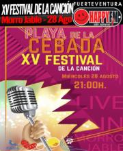 XV Festival de la Canción Playa de la Cebada