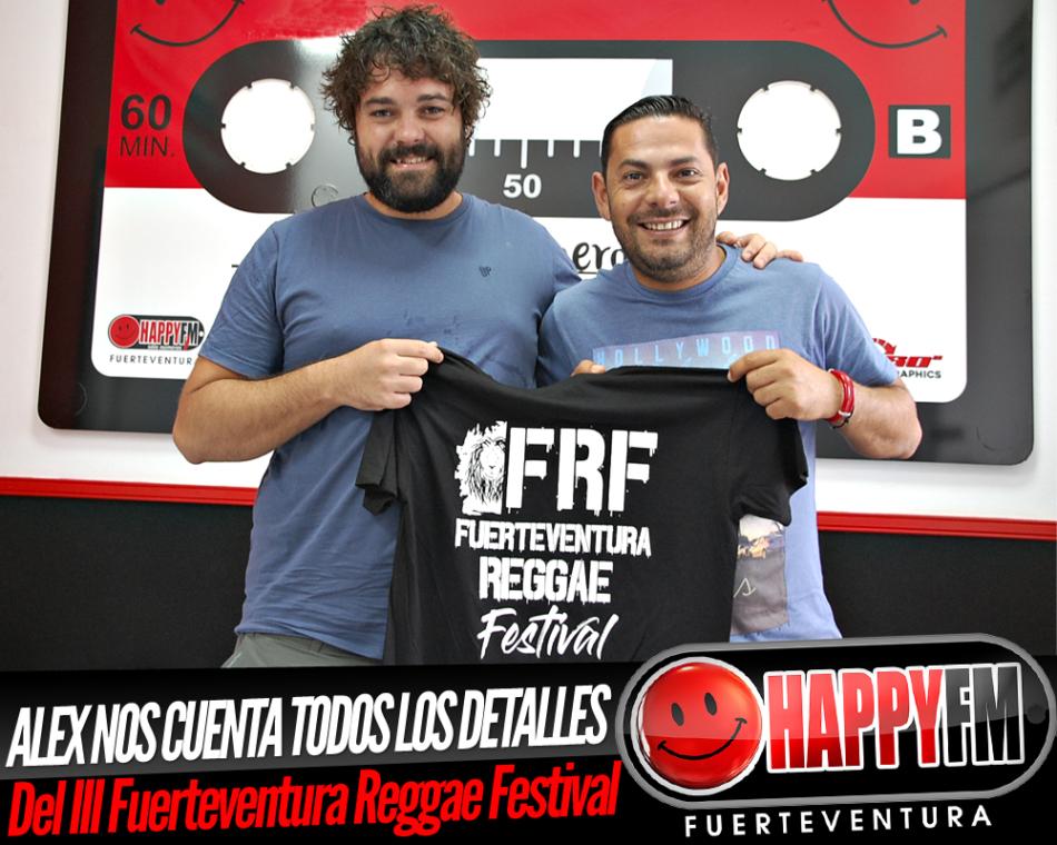 Alejandro Alonso nos cuenta todos los detalles del III Fuerteventura Reggae Festival