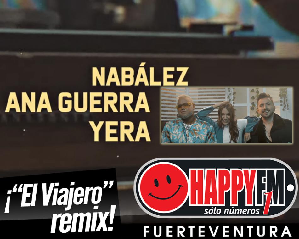 Nabález y Yera publican el remix del tema «El Viajero» con la colaboración de Ana Guerra