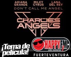 Ariana Grande, Miley Cyrus y Lana del Rey estrenan el single 'Don't Call Me Angel'