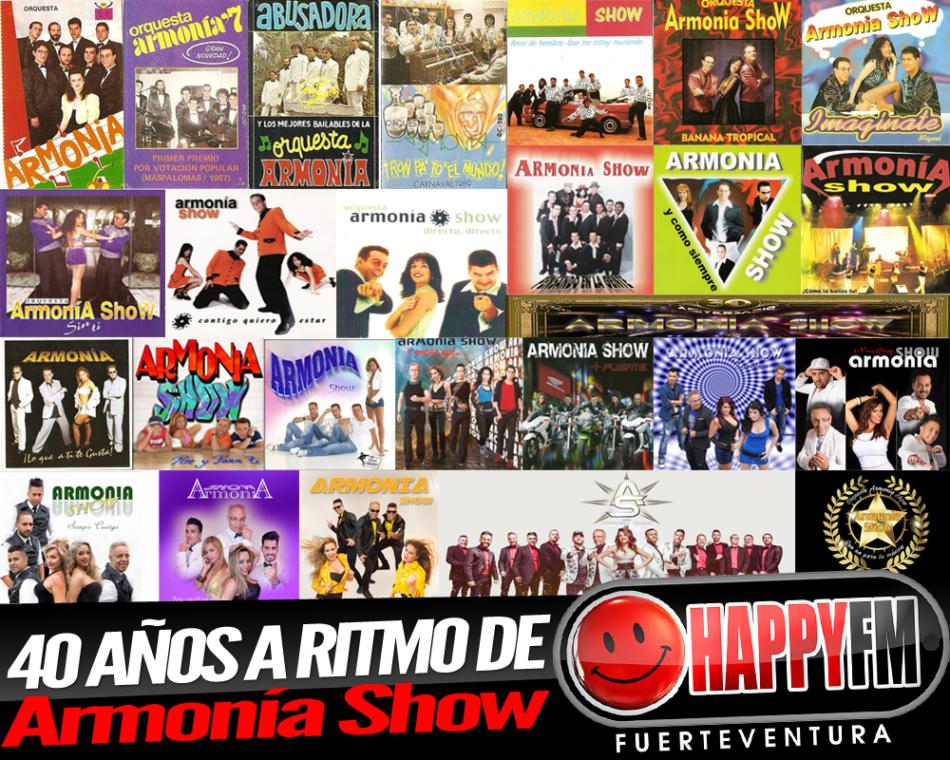 Cuarenta años a ritmo de Armonía Show