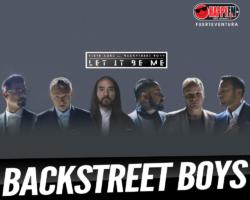"""Steve Aoki publica """"Let It Be Me"""" con la colaboración de Backstreet Boys"""