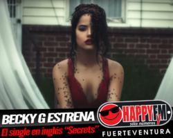 «Secrets» es el nuevo single de Becky G en inglés