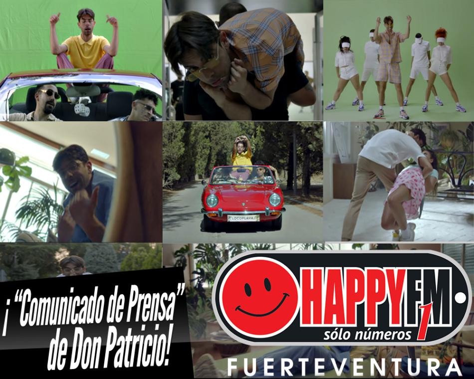 Ya puedes escuchar «Comunicado de Prensa» de Don Patricio