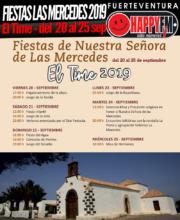 Fiestas en honor a Nuestra Señora de las Mercedes en el Time: del 20 al 25 de Septiembre