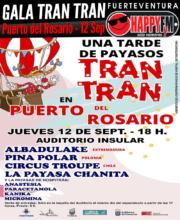 Gala Tran Tran a beneficio de Hospitran en Puerto del Rosario