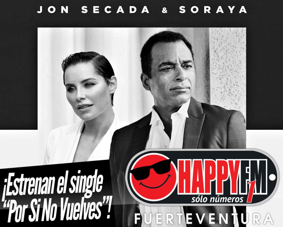Jon Secada y Soraya Arnelas estrenan el single «Por Si No Vuelves»