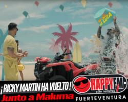 ¡Ricky Martin ha vuelto! con Maluma en el tema «No Se Me Quita»