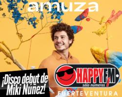Miki Núñez publica su disco debut «Amuza»