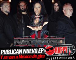 Natribu publica hoy el disco «Quimera» e inicia gira por México