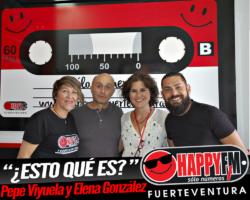 ¿Esto qué es? El gran Pepe Viyuela en los estudios de Happy FM Fuerteventura