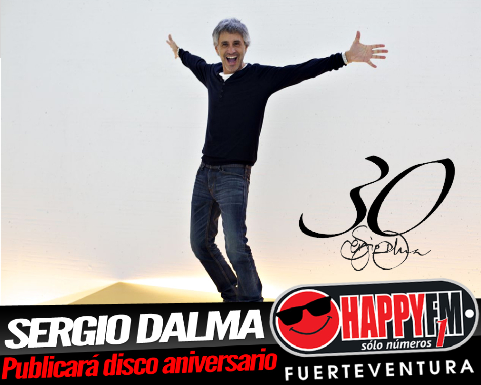 Sergio Dalma publicará un disco muy especial para celebrar sus treinta años en la música