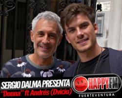 Sergio Dalma presenta «Donna» junto a Andrés (Dvicio)