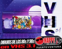 Series de animación de los 80s y 90s en VHS 3.1