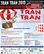 9º Festival Internacional de Payasos de Fuerteventura Tran Tran: 13-14 y 15 de Septiembre