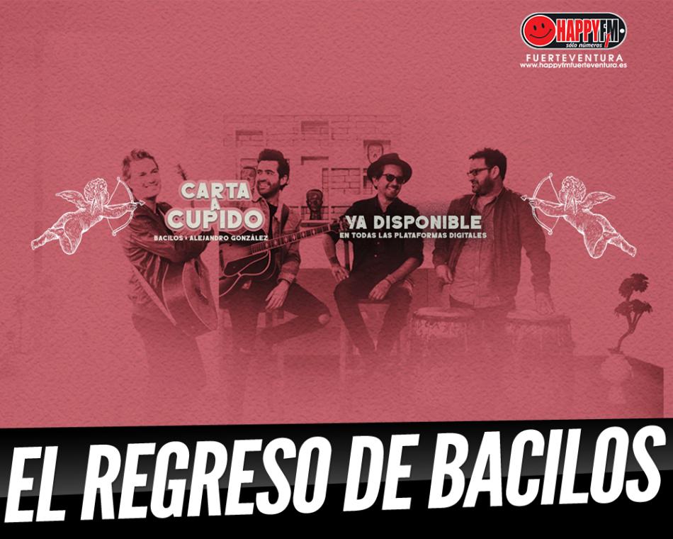 Bacilos regresa con una «Carta a Cupido» ft Alejandro González