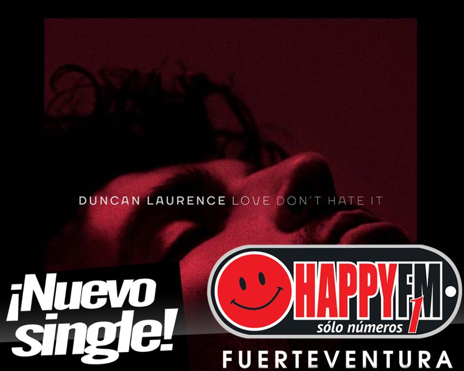 Duncan Laurence presenta su nuevo single, 'Love Don't Hate It'