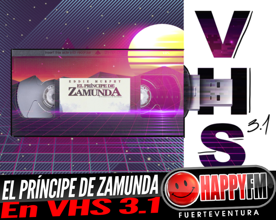Eddie Murphy y «El príncipe de Zamunda» en VHS 3.1