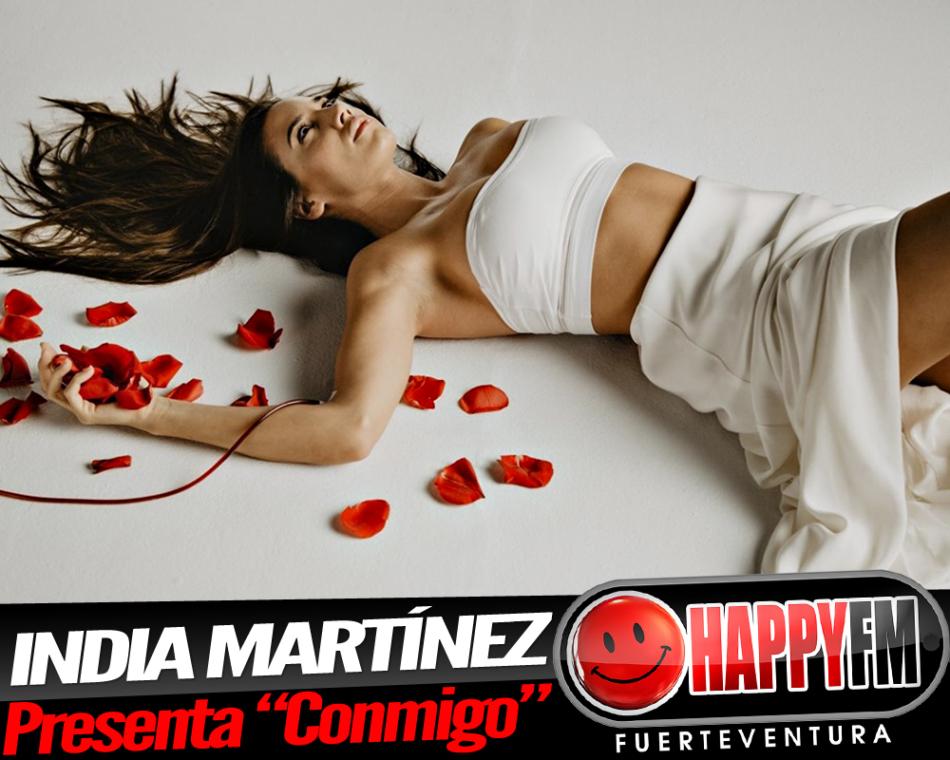 India Martínez estrena su nuevo single, «Conmigo»