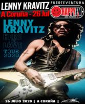 Lenny Kravitz en A Coruña