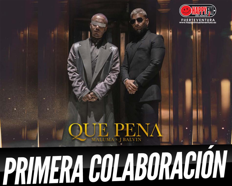 «Qué Pena» es la primera colaboración entre J Balvin y Maluma