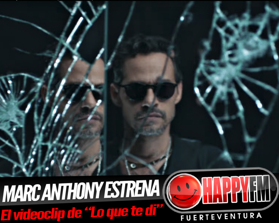 Marc Anthony estrena el videoclip del tema «Lo que te di»