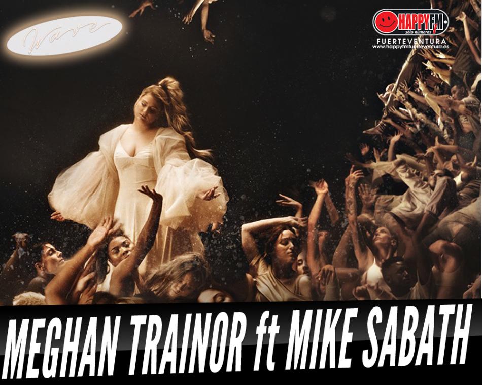 Meghan Trainor estrena el videoclip del tema «Wave» junto a Mike Sabath