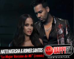 Natti Natasha publica el remix de «La mejor versión de mi» con la colaboración de Romeo Santos