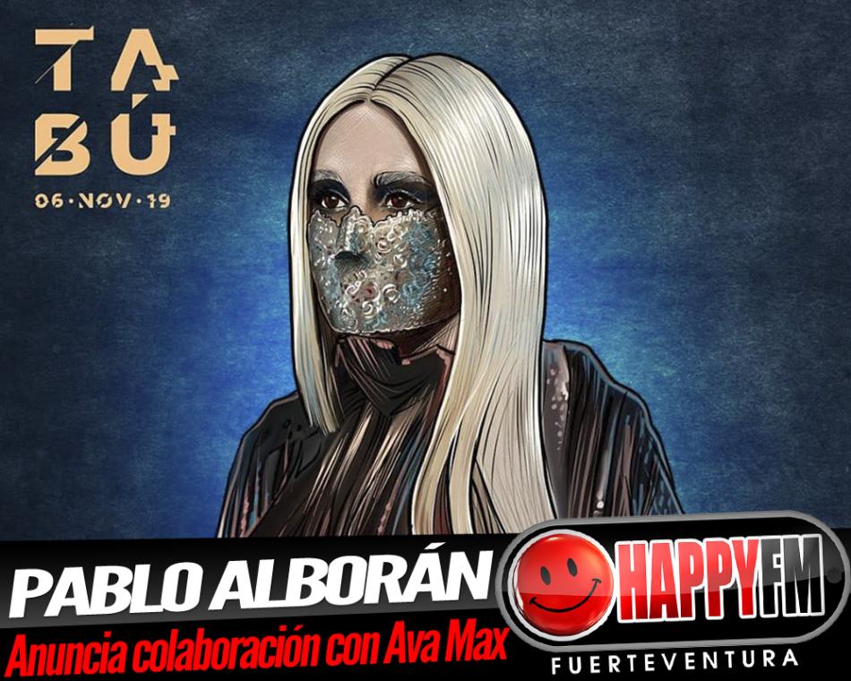 Pablo Alborán anuncia colaboración con Ava Max