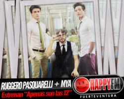 Ruggero Pasquarelli estrena el tema «Apenas son las 12» junto a MYA