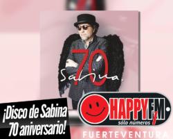 Joaquín Sabina celebra sus siete décadas con el recopilatorio «Sabina 70»