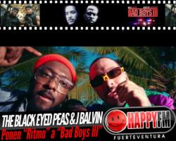 The Black Eyed Peas y J Balvin le ponen «Ritmo» a la peli «Bad Boys III»