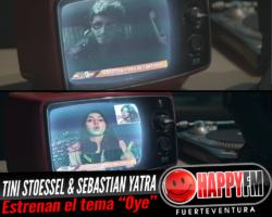 Tini Stoessel y Sebastian Yatra vuelven a unir sus voces en el tema «Oye»