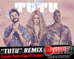 Shakira se une a Camilo y Pedro Capó en el remix de «TUTU»