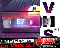 E.T una historia atemporal sobre la amistad en VHS 3.1