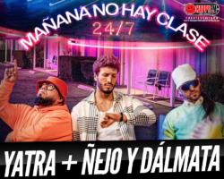 """""""Mañana No Hay Clase (24/7)"""" es el tema más urbano de Sebastian Yatra junto a Ñejo y Dálmata"""