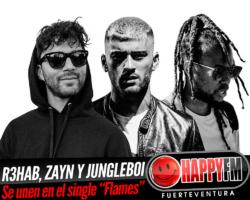 R3HAB, Zayn y Jungleboi se unen en el single «Flames»