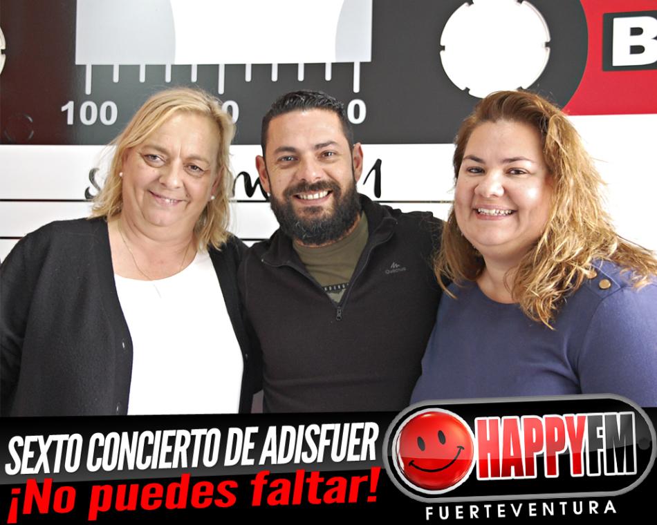 Carmen y Mónica de Adisfuer: ¡Les esperamos a todos en el 6º concierto «Día de la Discapacidad»!